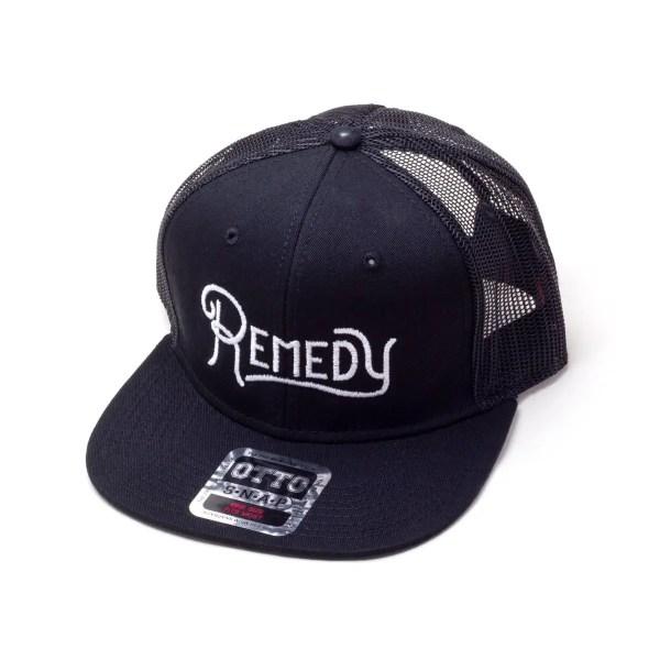 remedy snapback hat mesh