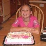 Caitlin Frangel 10th birthday cake