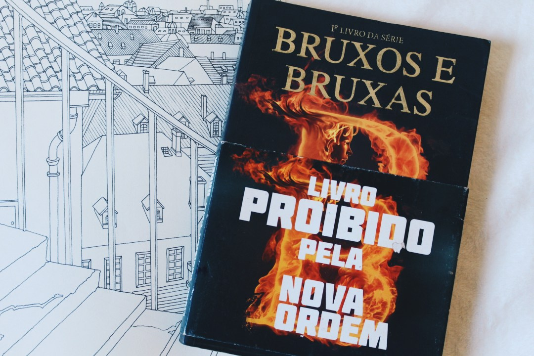 Foto do livro Bruxos e Bruxas