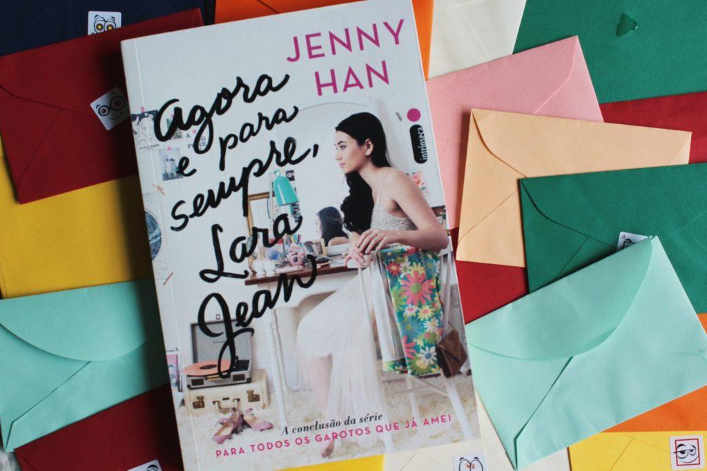 Foto do livro Agora e para sempre, Lara Jean