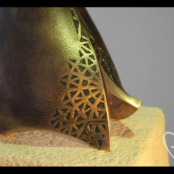 Josef Ajram - Escultura de fundición en bronce - Escultor Remigio Vidal