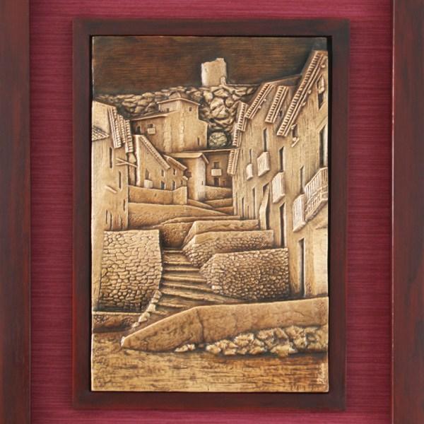 Tronetes - Esculturas de fundicion de bronce - Escultor Remigio Vidal 01