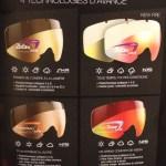 Photo de l'explication des lunettes de ski et de leur verre