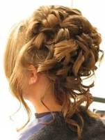 elaborate hairstyle