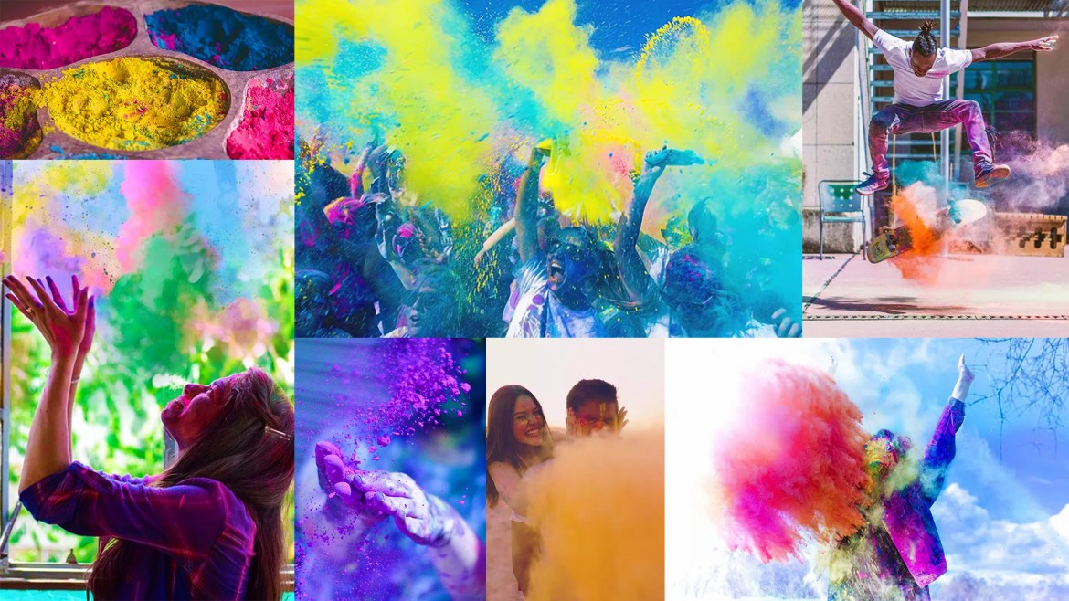 How To Shoot Cool Powder Photography With Non-Toxic Powder Color
