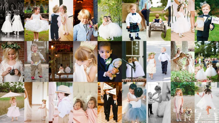 How To Photograph Kids At Wedding - Some Poses And Ideas