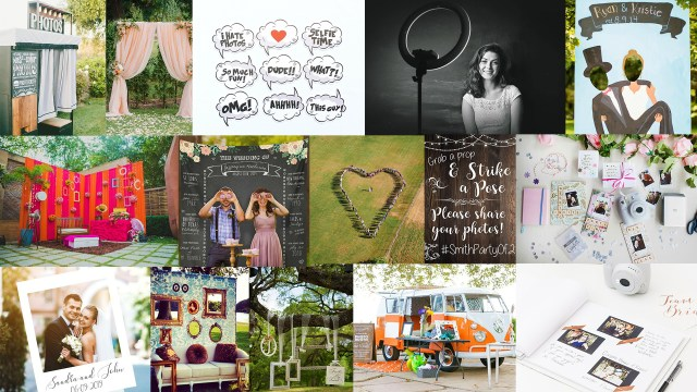Unique Photo Booth Ideas To Capture Your Beautiful Wedding Memories