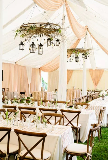 17 Most Beautiful Wedding Tent Ideas