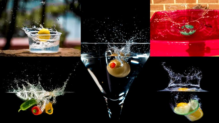 Start Shooting at Home to Understand High-Speed Photography