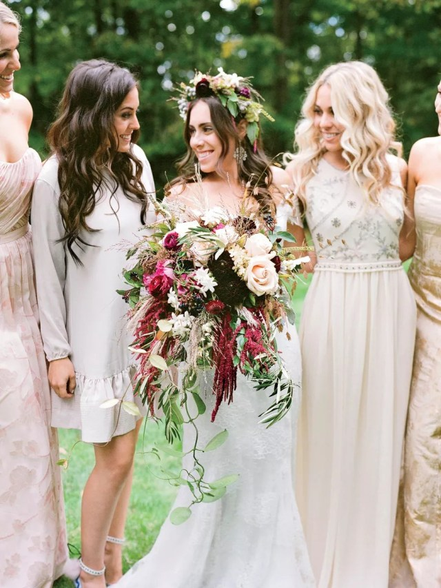 Wedding Bouquet: 15 Beautiful Wedding Bouquet Ideas With Flowers And Filler