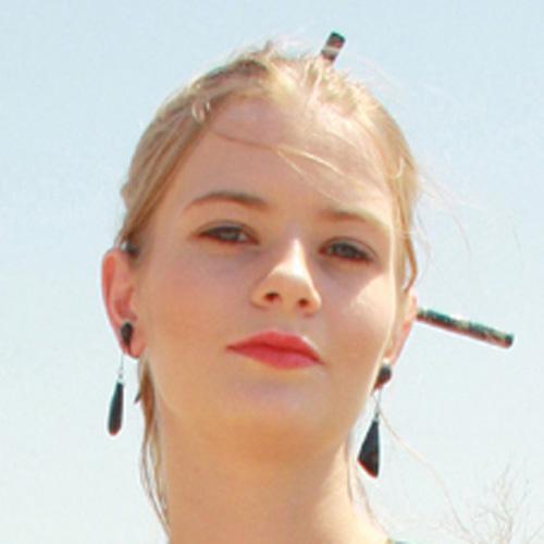 art deco jet dangle earrings - remix vintage clothing