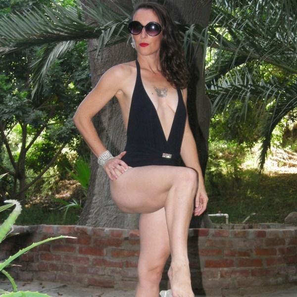 Gottex swimsuit 80s designer-The Remix Vintage Fashion