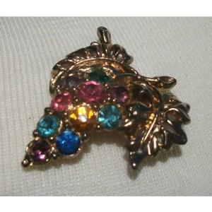 vintage jewelry brooch - Remix Vintage Clothing