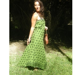 Upcycle designs strapless dress-the remix vintage fashion