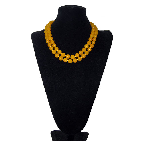 baltic amber necklace-the remix vintage fashion