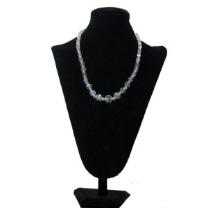 crystal ab necklace-the remix vintage fashion