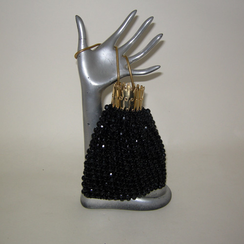 gate neck purse beaded 60s style-the remix vintage fashion