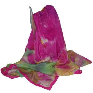 Saldarini silk scarf-the remix vintage fashion