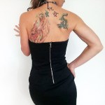little black dress ann taylor strapless mini petite-the remix vintage fashion