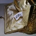 la regale purse gold beaded clutch 80s   the remix vintage fashion