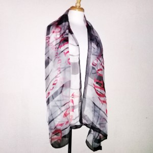 christian dior scarf silk signature shawl wrap-the remix vintage fashion