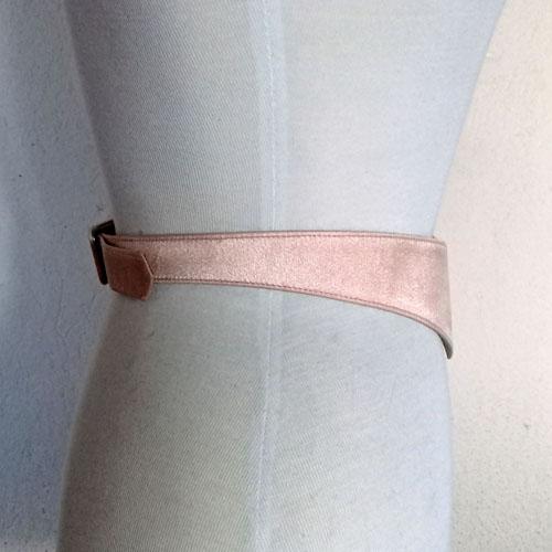 v shaped disco belt pink irridescent 70s 80s-the remix vintage fashion