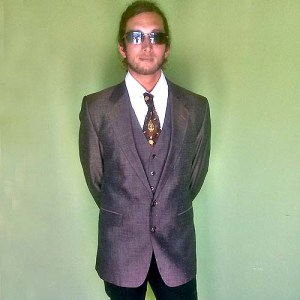 Givenchy gentleman Paris suit jacket vest-the remix vintage fashion
