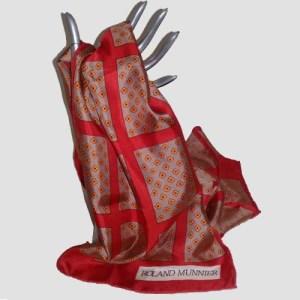 Roland Munnier silk scarf-the remix vintage fashion
