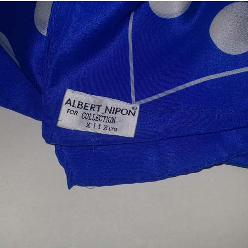 albert nipon silk scarf-the remix vintage fashion