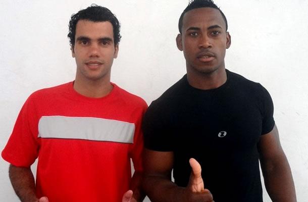 Ricardo Papa Léguas e Rodrigo Negão