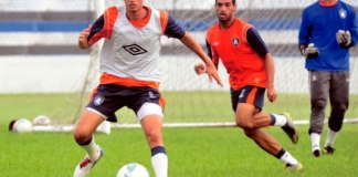 Thiago Galhardo e Fábio Paulista