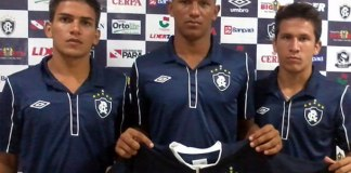 Remo apresenta 3 jogadores para a Copa do Brasil Sub-20