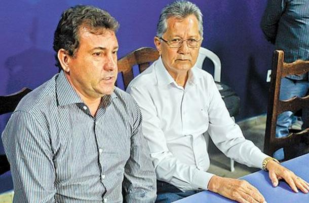Zé Teodoro e Pedro Minowa