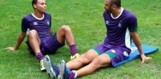 Fernandinho e Allan Dias