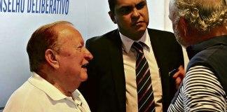Manoel Ribeiro, Marco Antônio Pina (Magnata) e Sérgio Dias