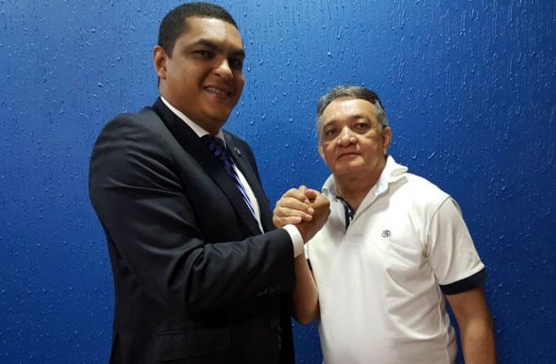 Marco Antônio Pina (Magnata) e Francisco Rosas