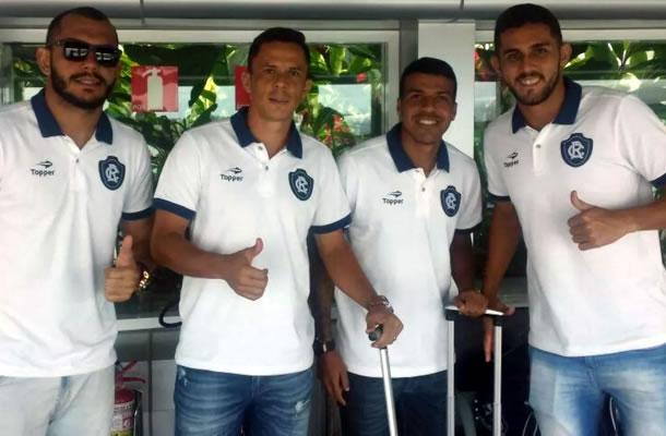 André Luis, Fininho, Daniel Damião e Igor João