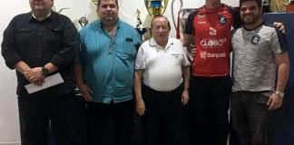Gilmar Nascimento, Paulinho Araújo, Manoel Ribeiro, Vinícius e Rafael Dahas