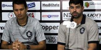 João Nasser Neto (Netão) e Ari Barros