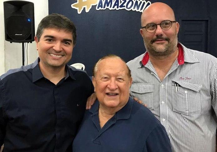 Ângelo Carrascosa, Manoel Ribeiro e Fábio Cebolão
