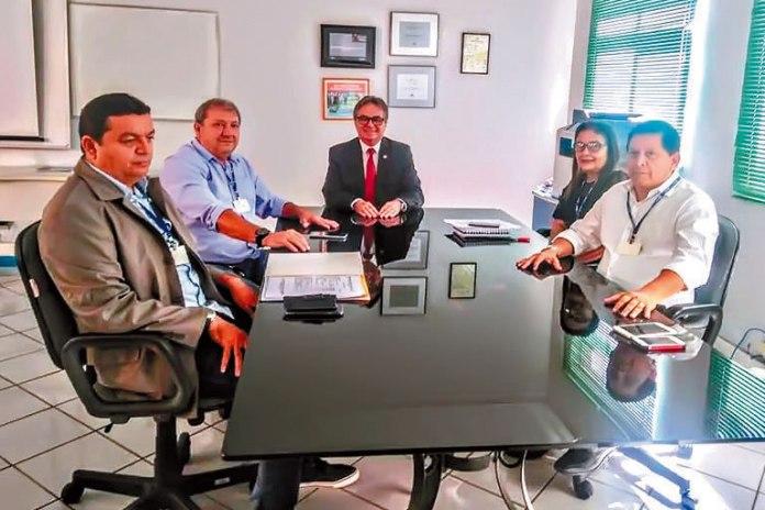 Reunião FPF/Banpará