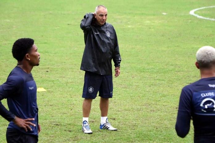 Mário Sérgio, Márcio Fernandes e Victor Luiz