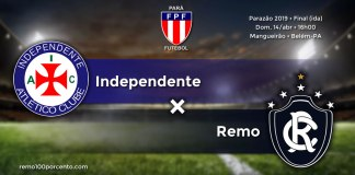 Independente × Remo