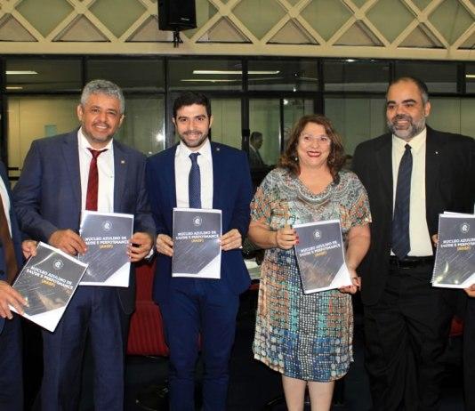 Deputados conhecem projeto do NASP do Clube do Remo