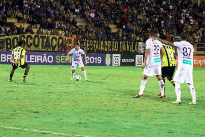 Volta Redonda-RJ 0x0 Remo (Danillo Bala, Neto Baiano e Ramires)