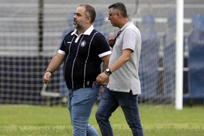 Fábio Bentes e Luciano Mancha