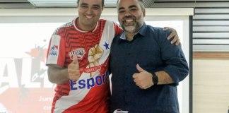Ricardo Oliveira (ALIDESP) e Fábio Bentes (Remo)