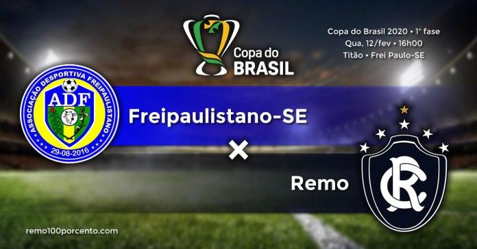 Freipaulistano-SE × Remo