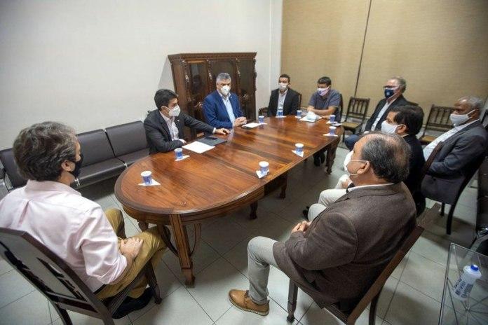 Reunião entre Governo do Estado, SEEL, FPF, Remo e Paysandu para tratar do retorno do futebol