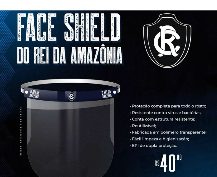 Face Shield do Rei da Amazônia